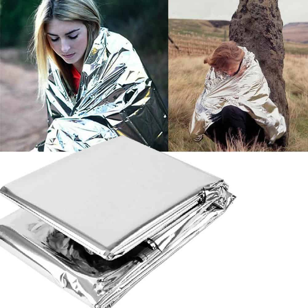 Reflective Emergency Blanket Camping Mat